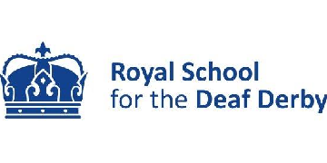 Royal School for the Deaf Derby logo